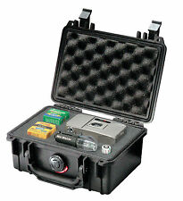 Pelican 1120 Equipment Case with foam, Black