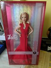 american heart association collector Barbie pink label