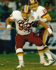 Jeff Bostic Pose2  8x10 Signed Photo w/ COA  Washington Redskins
