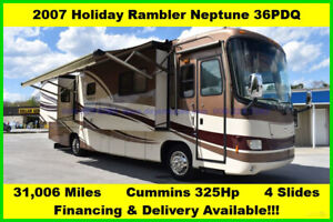 2007 Holiday Rambler Neptune Used Diesel Pusher Motor Home Coach Motorhome MH RV