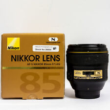 Nikon 85mm f/1.4 AF-S G Fast Prime Lens Boxed