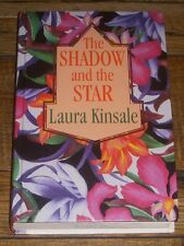 SHADOW AND THE STAR by Laura Kinsale (1992 HARDCOVER Large Print) HC LP Romance