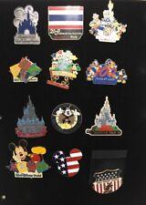 Lot Of 12 Walt Disney World Pins