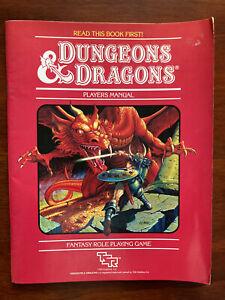 Dungeons & Dragons Players Handbook 1983 Red Cover edition TSR