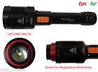Torcia Tattica Professionale Zoom Elettrico LED CREE XM-L T6 Luce Bianca BL-K1