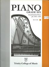 Trinity college of music G6 Piano Exam pieces 1993-6