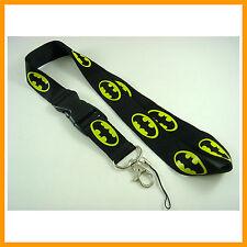 Batman Logo Lanyards, ID card holder, Key Neck Strap Lanyard, Phone Neck Strap
