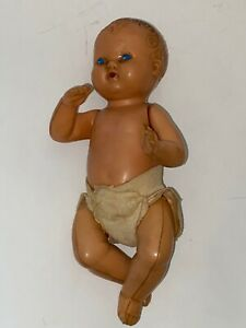 """Vintage 1950s Celluloid 8"""" Baby DOLL Made by IRWIN HTF RARE"""