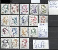 8231C-MUJERES FAMOSAS CELEBRES MNH** SERIES COMPLETAS ALEMANIA  45,00€ NUEVOS