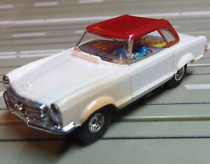 Faller Ams Mercedes 230 SL Coupe With Flat Chain Motor, 60er Years, Toys