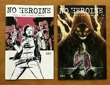 No Heroine 1  Ahmed Raafat Main CVR + Ben Templesmith  VAR Source Point Press NM