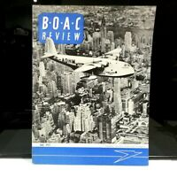 BOAC Review July 1957 Vintage air Book Staff Magazine Caledonia British airways