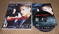 Prison Break: The Conspiracy (Sony PlayStation 3, 2010)