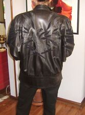 Jean Claude Jitrois Vintage Black Lambskin leather Jacket size M
