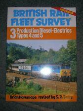 BRITISH RAIL FLEET SURVEY 3: PRODUCTION DIESEL-ELECTRICS TYPES 4 AND 5., Haresna