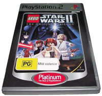 Lego Star Wars II The Original Trilogy PS2 (Platinum) PAL *No Manual*
