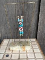1979 Ron Lee Swinging Trapeze Clown Sculpture Signed Numbered Gold Brass Marble