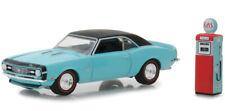 1968 Camaro SS & Gas Pump