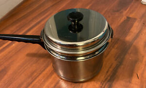 Lifetime 2 1/2 qt. 18-8 stainless steel Double Boiler Sauce pan with lid