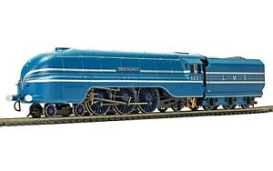 Hornby R3623,  LMS Caledonian Blue, Princess Coronation Class, 4-6-2, 6221 'Quee