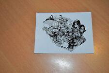 PHOTO DE PRESSE ( PRESS PHOTO ) Ford moteur 1.8 Turbo Diesel de 1993 F0390