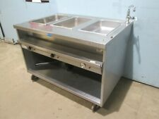 """'Randell"""" H.D. Commercial (Nsf) Ss Electric 3 Hot Wells Kitchen Serving Line"""
