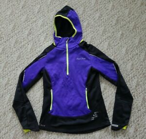 EUC Pearlizumi Elite Women's 1/2 Zip Thermal Cycling Jacket Color Purple Size XS