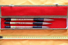 Coffret 3 Pinceaux-Pinceau Calligraphie Chinoise-Chinese Calligraphy Brush-
