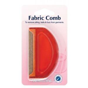 Hemline Wool Fabric Comb Lint Fuzz Bobble Pilling Knitwear Remover  Plastic Edge