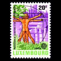 Luxembourg 1986 - EUROPA Stamps - Nature Conservation - Sc 752 MNH