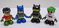 2x Batman, Joker ,Robin ( all 4 ) Figure 2008 Batman Series DC Comics s10