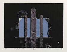1981 | MARIO AVATI | Les Yeux Bleus de Michel | MEZZOTINT rives paper | 38 of 85