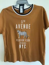 BNWT Ladies M&S Collection T-shirt Size 16.