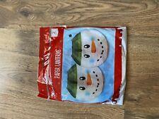 ❄️Christmas Lantern Snowman  Decoration Xmas Party 🌲