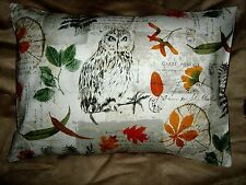 OWL/NATURE TRAVEL/ACCENT/LUMBAR/CHILD PILLOW COVER