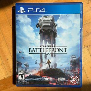 Star Wars: Battlefront (PlayStation 4 PS4, 2015)