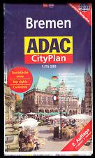 Stadtplan, Bremen, ADAC-CityPlan, Nebenkarten, um 1912