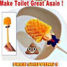 Donald Trump Toilet Brush Bowl Gag Gift Hand Made Home Cleaner Brush Gift Toy