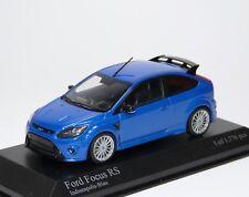 FORD FOCUS RS 2009 Indianapolis BLU BLUE BLEU AZZURRO Minichamps 400088101 1:43