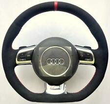 AUDI ALCANTARA S Line A3 S3 A4 S4 A5 S5 A6 S6 A8 TT RS R8 Q5 Q7 Steering wheel