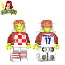 LEGO Custom Football Soccer FIFA World Cup Mandzukic in Croatia National Jersey