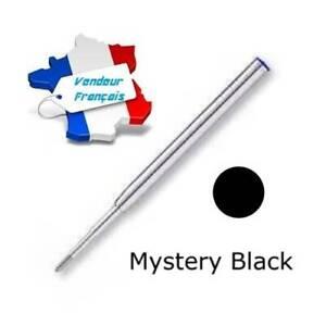 Recharge Bille pour stylos Mont Blanc - Mystery Black - Envoi de France immédiat