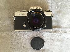 Minolta XD 11 Camera with Minolta MD Rokkor-X 45mm F2 pancake lens