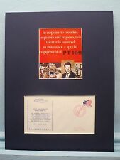 World War II Hero - John F. Kennedy and PT 109 & Commemorative Cover