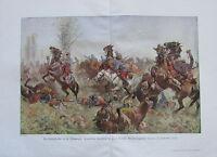 Koch DIE HERBSTOFFENSIVE CHAMPAGNE 1916 1. Weltkrieg alter Druck old print