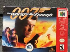 The World is Not Enough 007 | Nintendo 64 | New In Box | Ships Priority