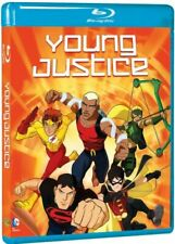 YOUNG JUSTICE New Sealed Blu-ray Season 1 Warner Archive Collection