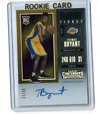 Thomas Bryant Los Angeles Lakers 2017-18 Panini Contenders Playoff Ticket 21/65
