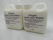 Latex Liquide 1 L 2 x 500 ml Caoutchouc Mold Mould Making/Trempage/Artisanat/SFX