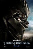 Transformers movie poster  - Original Studio Issued Poster
